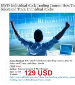 Elliot Wave - How To Select and Trade Individual Stocks